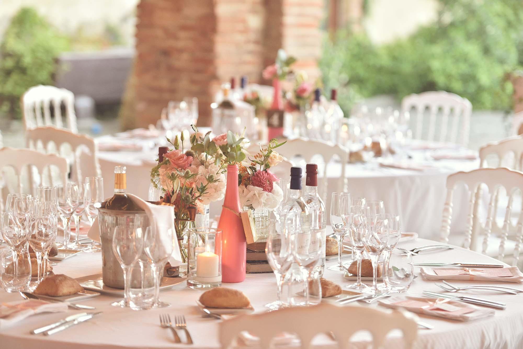 Mariage à Poussignan Gers - décoration -papeterie de mariage Apres de toulouse