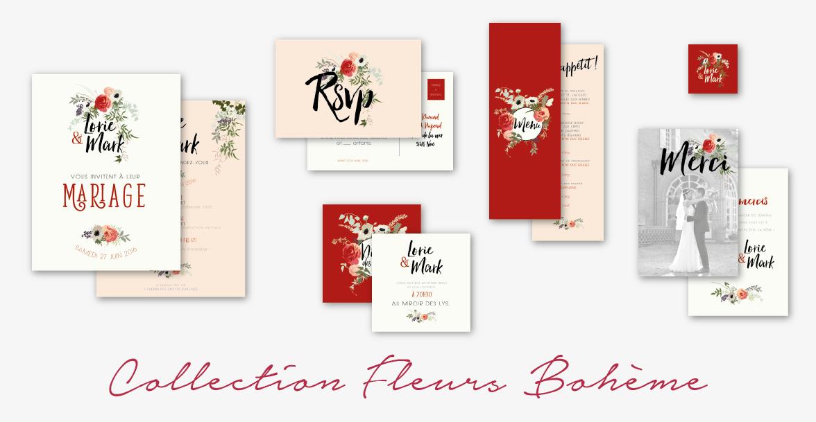 Collection Fleurs Boheme Le Comptoir Du Bonheur By Vincelie