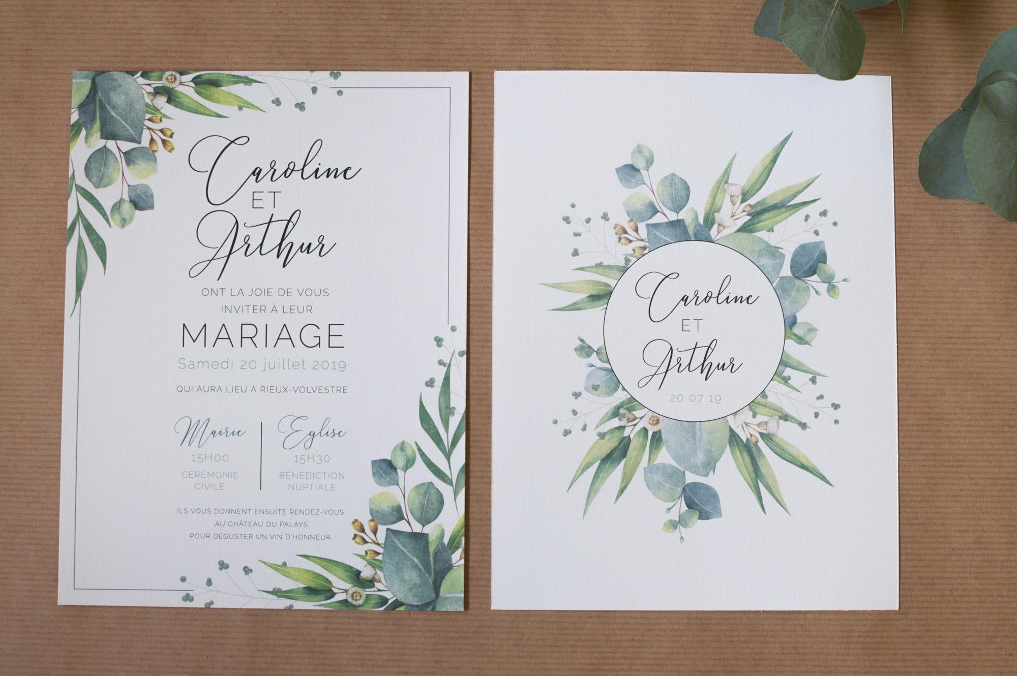 Tarif faire part de mariage