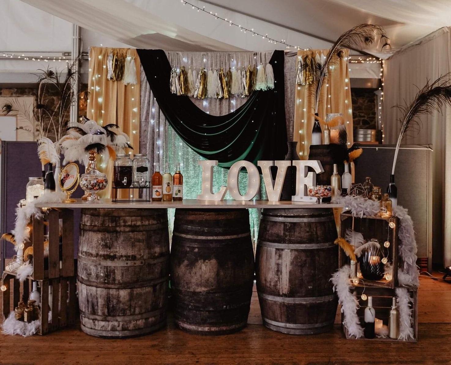 Papeterie de mariage années 20 Mariage Gatsby rétro décoration faire-part et papeterie