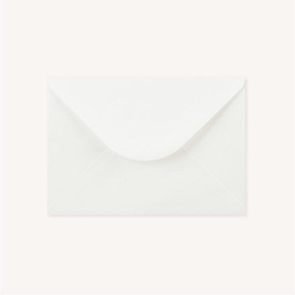 Enveloppes blanche faire-part mariage