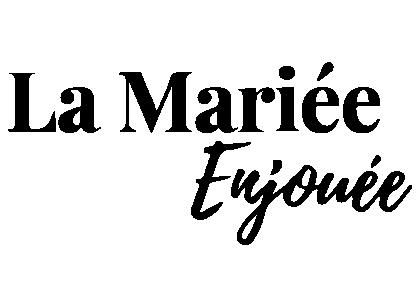 Logo La mariée enjouée