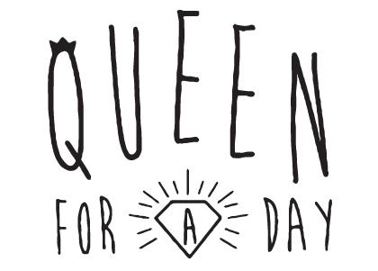 Logo Queen for a day