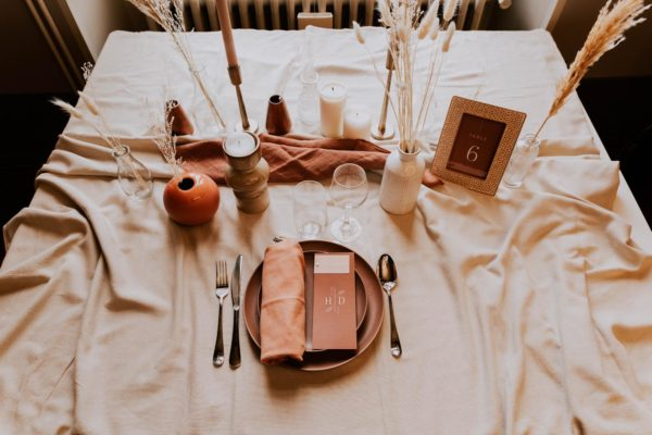 Mariage terracotta inspiration mariage couleur terracotta