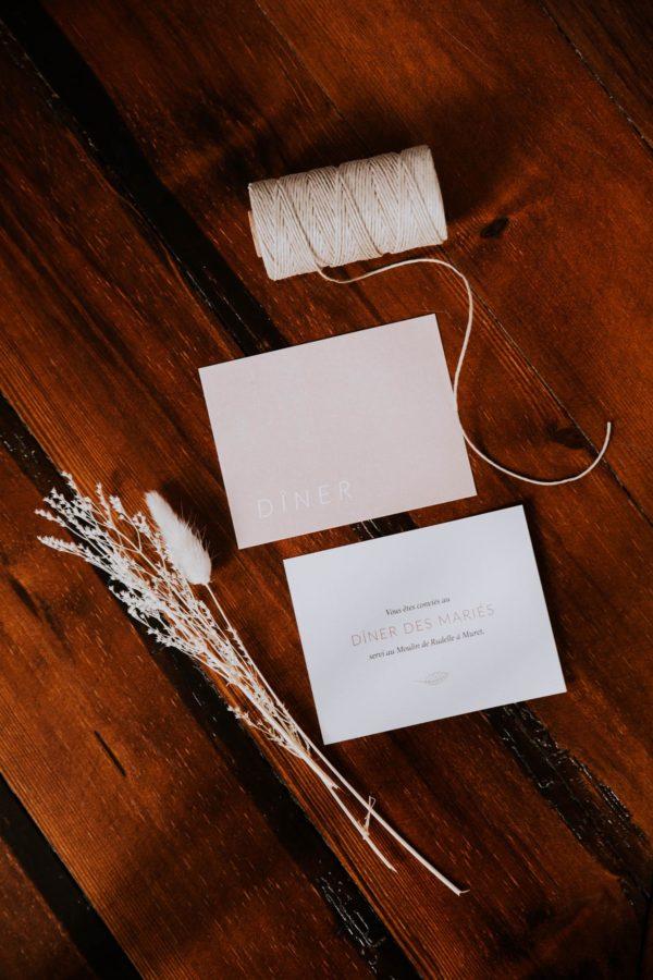 Faire-part mariage terracotta inspiration mariage couleur terracotta