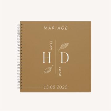 livre d'or kraft mariage