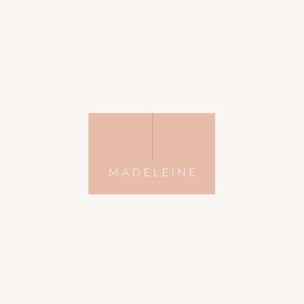 Marque-place mariage Terracotta brique blush