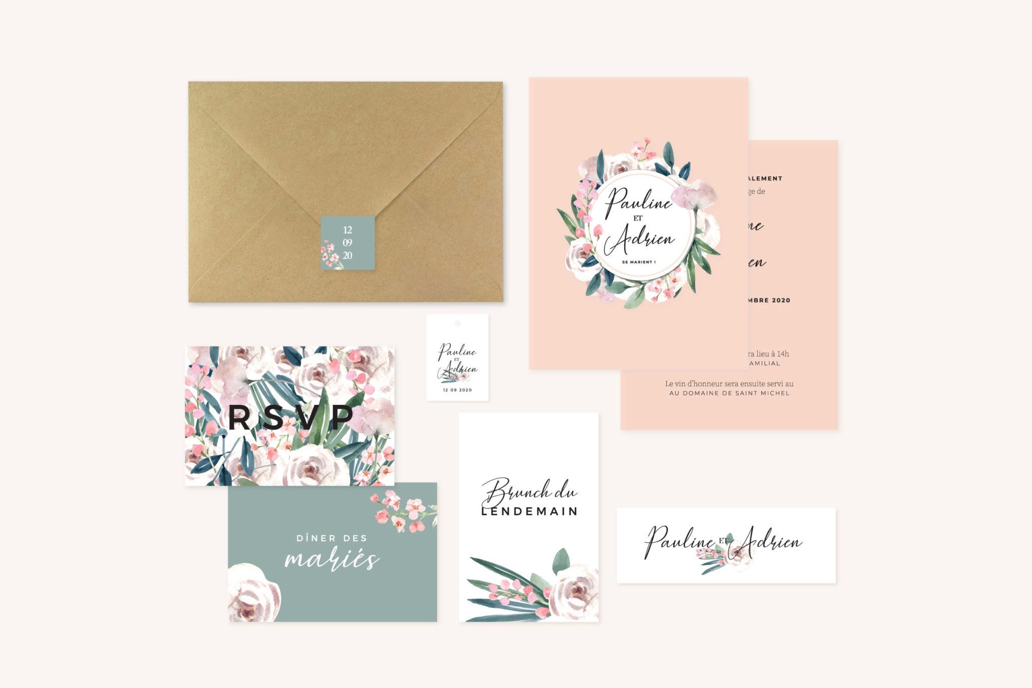 Mariage fleurs jardin anglais