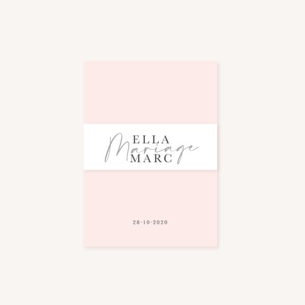 Bandeau mariage élégant chic romantic neutral épuré bordeaux rose nude blanc