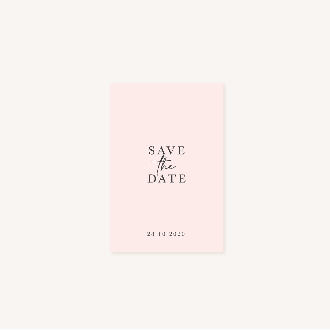 Save the date mariage élégant chic romantic neutral épuré bordeaux rose nude blanc