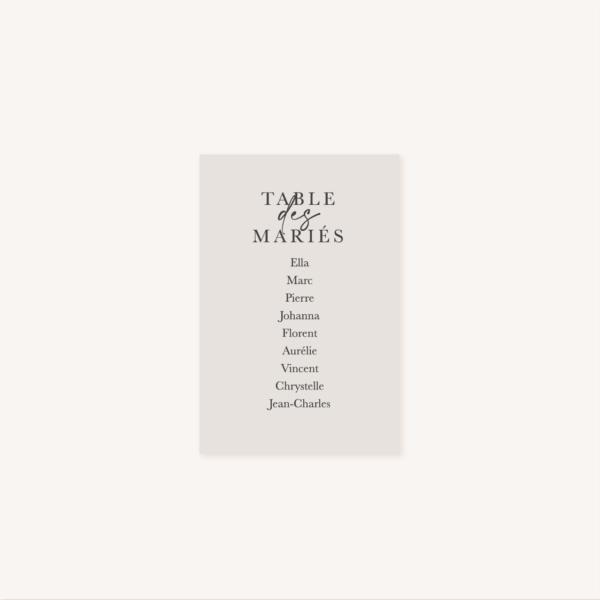 Plan de table mariage élégant chic romantic neutral épuré bordeaux rose nude blanc