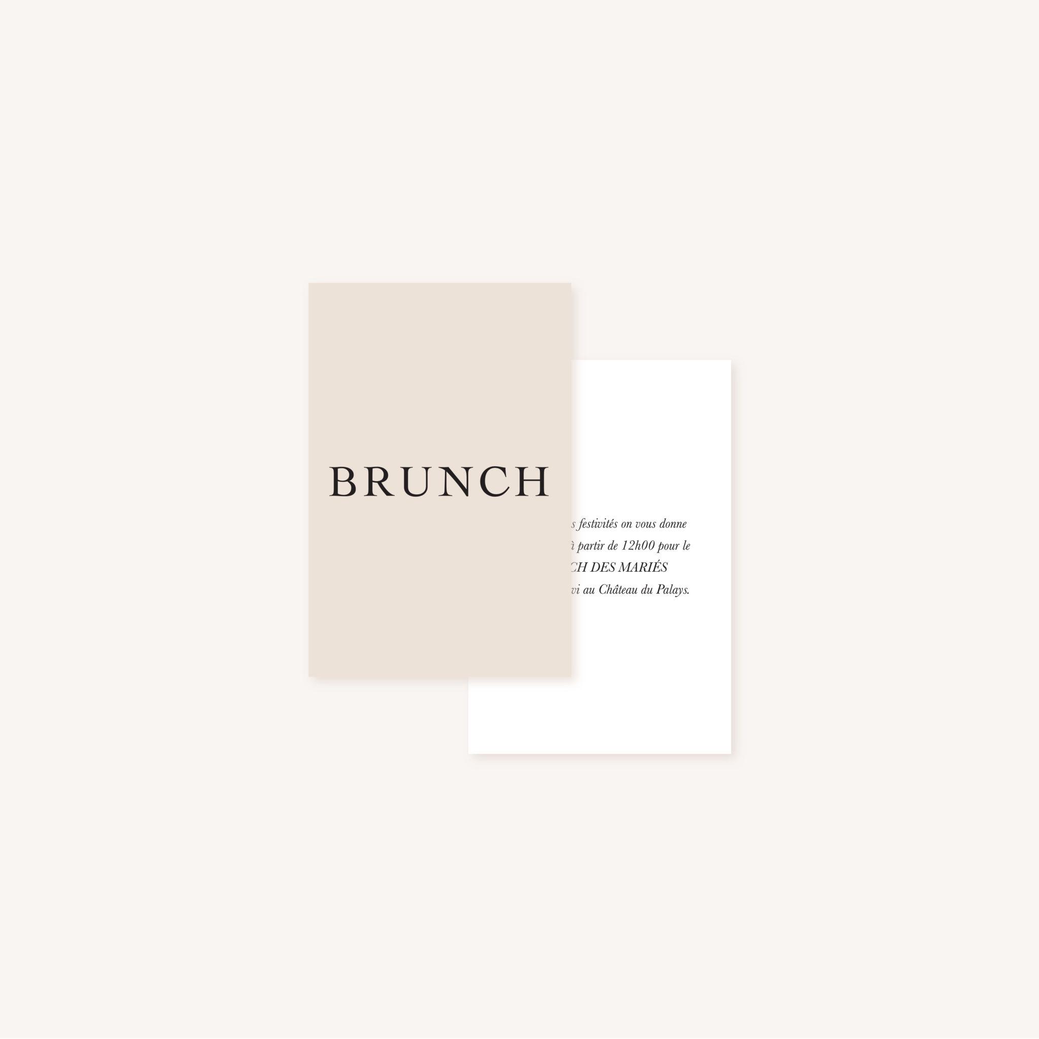 Brunch mariage nude rose gris beige élégant sobre