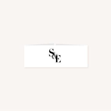 Bandeau black and white noir et blanc moderne lettering innovant graphique