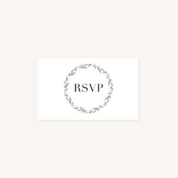 RSVP mariage recto, illustrations, portrait, toi et moi, Floral, nature, rose, nude, pêche, vert d'eau, vert menthe, eucalyptus, feuillage, végétal, aquarelle, dessin, couple, photo, romantique, végétal, nature, champêtre