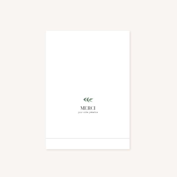 Livret de cérémonie mariage verso, illustrations, portrait, toi et moi, Floral, nature, rose, nude, pêche, vert d'eau, vert menthe, eucalyptus, feuillage, végétal, aquarelle, dessin, couple, photo, romantique, végétal, nature, champêtre
