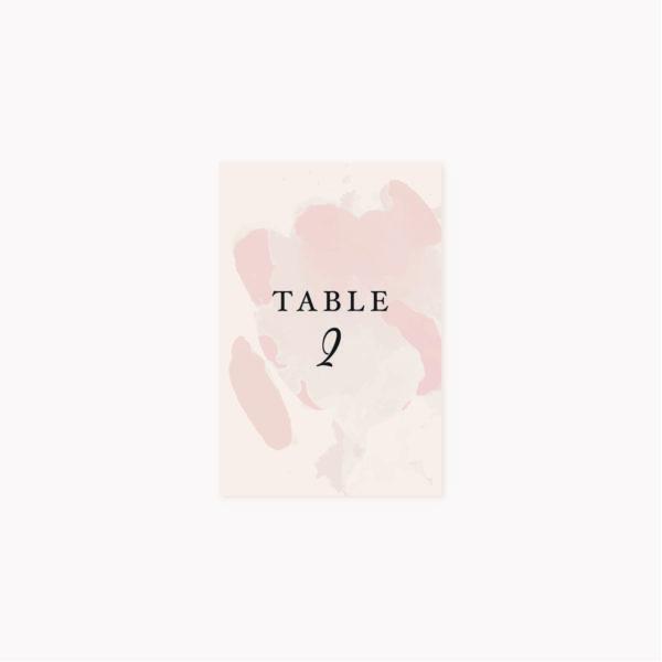 Nom de table mariage blush rose, rose poudré, rose clair, blanc, mariage thèmes doux, romantique