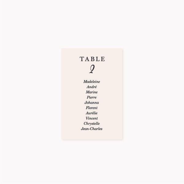 Plan de table mariage blush couleurs rose, rose poudré, rose clair, blanc, mariage thèmes doux, romantique
